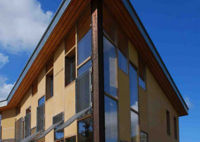 Maison ossature bois et béton de chanvre 2